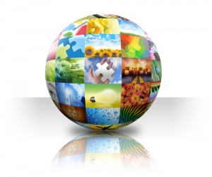 Small Business Puzzle Globe